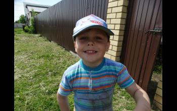Самый младший воспитанник воскресной школы - Роман