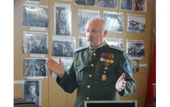 Сергей Владимирович Морозов - основатель сельского музея и краевед