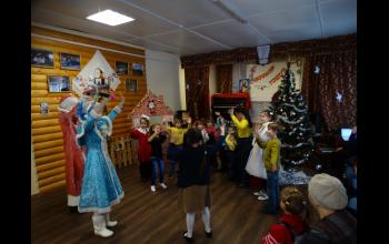 Игры с Дедушкой Морозом и Снегурочкой!
