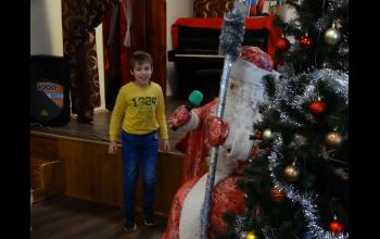 Танец для Дедушки Мороза!