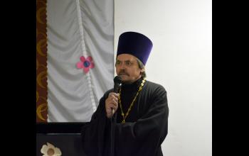 Выступление отца Георгия