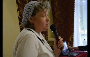 Ирина Борисовна, диретор воскресной школы Боровецкого храма