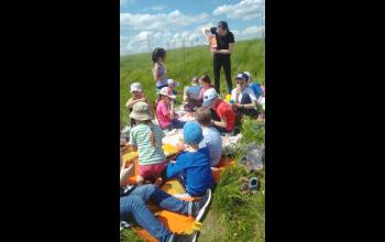 Вот и пикник... в холмах! На свежем воздухе все так вкусно!